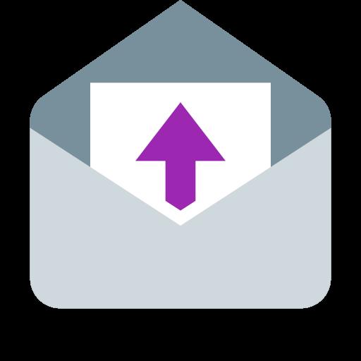 メール自動転送機能のアイコン